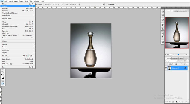 product image reflection shadow